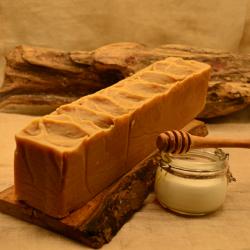 Savon en vrac - lait de chevre miel huile d'amande douce - obialice savonnerie artisanale herault