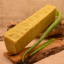 Barre de savon surgras en vrac Obialice enrichi en huile d'avocat, carthame et jus d'aloe vera frais