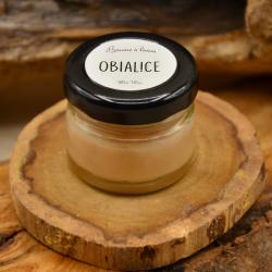 Baume à lèvres - karité - cacao- abricot- parfumé à l'ylang ylang : obialice cosmétiques naturels hérault